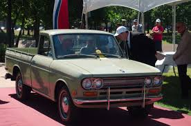 datsun nissan truck 1971 datsun 521 pickup takes home award at concours d u0027elegance of