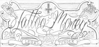 money tattoo sketches pictures to pin on pinterest tattooskid