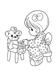 share love precious moments colouring share love