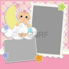 template for baby s card royalty free cliparts vectors and