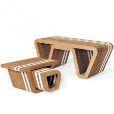 arredo in cartone elementi d arredo in cartone alveolare underground origami furniture