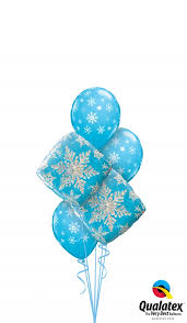 Snowflake Balloons Winter Balloon Bouquets Winter Balloon Bouquets Vancouver Bc