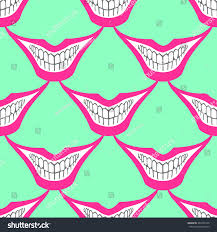 halloween scary background green evil clown playing card joker smile stock vector 464765750