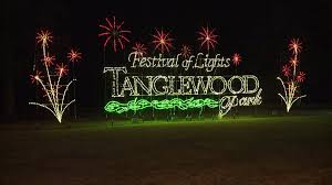 tanglewood christmas lights nc tanglewood festival of lights in clemmons makes list of 9