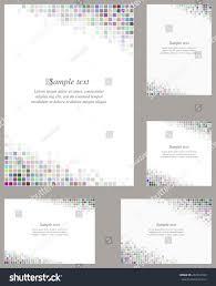 Software For Invitation Card Design Multicolor Page Corner Design Template Invitation Stock Vector