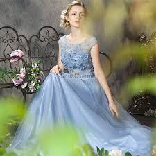 haut habill pour mariage robes habillées pour mariage longue bleu ciel en tulle la haut