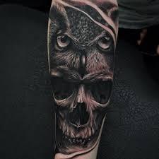 skull owl by nemesis