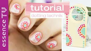 n gel selber designen nageldesign selber machen für anfänger kurze nägel dotting