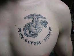 will a marine corp tattoo affect me in my future acting career