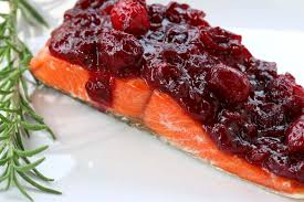 thanksgiving recipes cranberry sauce salmon with cranberry ginger mustard sauce sous vide u0026 slow