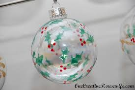 one creative diy ornaments