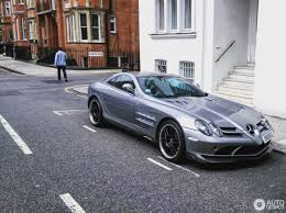 mercedes slr 722 edition mercedes slr mclaren 722 edition 21 april 2017 autogespot