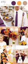 purple and orange wedding ideas get inspired by these awesome plum purple wedding color ideas