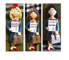 Personalized Graduation Ornaments Personalized Gift For Female Attorney Lawyer Legal Assistant