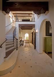 foyer main entry spanish colonial hacienda carmel california