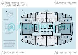 Burj Al Arab Floor Plans Bay Central Central Tower Floor Plans Justproperty Com