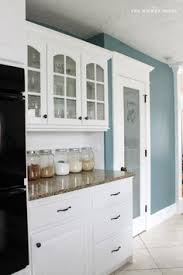 Kitchen Colors With White Cabinets My Fresh New Blue Kitchen Reveal The Wicker House Benjamin