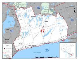 Wmu Map Fisheries Management Zone 17 Fmz 17 Ontario Ca