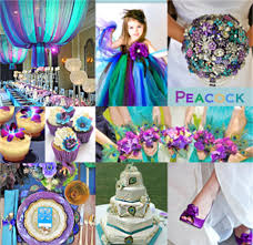 peacock themed wedding because of the peacock s enchanting colors it has become a