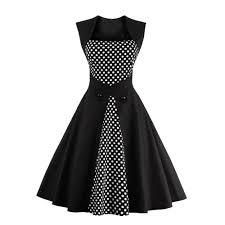 women summer dress 2016 plus size clothing audrey hepburn f dot