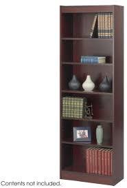 6 Shelf Bookshelf Veneer Baby Bookcases Office Furniture By Safco