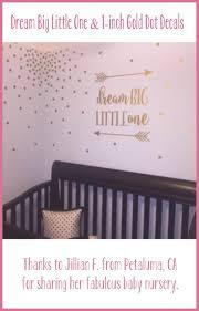 dream big little one nursery wall decal rustic nursery decor
