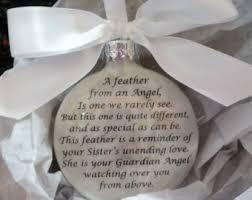 in memory of memorial ornament sympathy gift