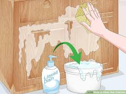 how to clean oak cabinets how to clean oak cabinets with pictures wikihow