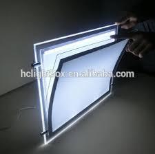 led picture frame light ceiling hanging poster frame led light window display buy ceiling