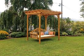 Red Cedar Pergola Kits by Red Cedar Pergola From Dutchcrafters Amish Furniture