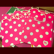 pink gift bags s secret 5 s secret pink paper gift bags from