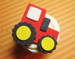 tractor cupcake topper idea owen u0027s first birthday pinterest