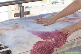 How To Wash Feather Duvet How To Wash Duvets With Pictures Wikihow
