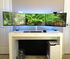 best desk setup articles with cool tech desk setups tag awesome cool desk setups