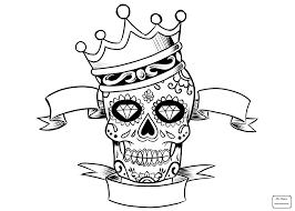 coloring pages sugar skull and roses sugar skulls arts culture