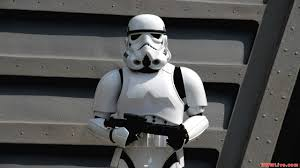 star wars jedi training academy imperial stormtrooper standing
