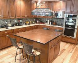 Wood Island Tops Kitchens Copper Top Kitchen Island Rembun Co