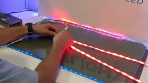 rgb led light strips how to set up the flexible led light strip accent kit from