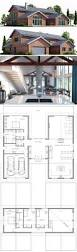 Modern House Floor Plan 302 Best House Plans Images On Pinterest Homes Floor Plans And