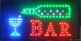 shop open sign lights sale led bar shop open sign customed low power 10x19 inch semi