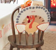 thanksgiving turkey chairbacker pottery barn