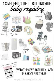 baby registery building a baby registry everything we actually used in baby s