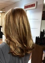 ecaille highlights brunette ruskeathiukset vaaleatraidat