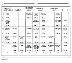 2000 buick fuse box diagram 2000 wiring diagrams instruction