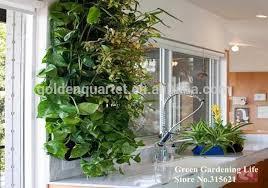 Wall Garden Planter by Hanging Flower Pots Vertical Wall Gardening Planter Home