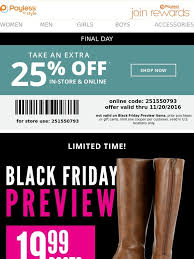 payless black friday sale payless 25 off coupon ends today 19 99 boots black friday