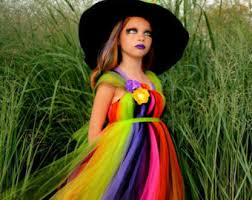 black and purple witch costume tutu dress