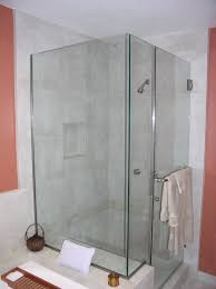 bathroom design chic frameless door of shower stall kits with