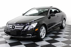 mercedes e 350 coupe 2010 used mercedes certified e350 coupe amg xenons navigation