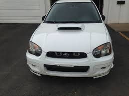 subaru wrx hatchback spoiler 2004 subaru wrx aspen white wagon 5 speed part out the subie